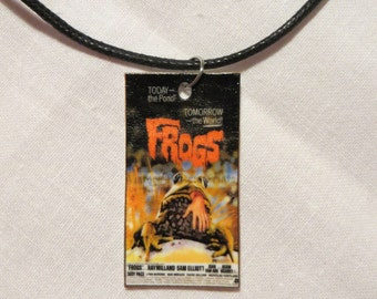 Handmade Frogs Necklace