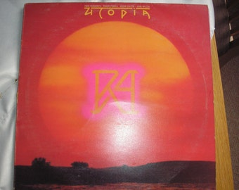 RA LP by Utopia (Todd Rundgren) - Bearsville Records from 1977 - K55514