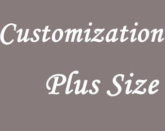 Customize Your Convertible Dress to a plus size Dress , Plus Size infinity Dress , Plus Size Convertible dress