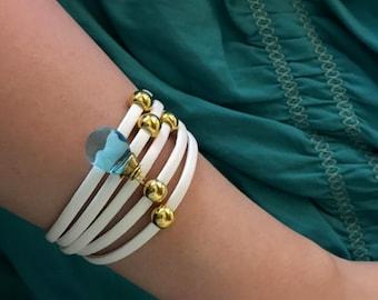 Blue Gem Bracelet