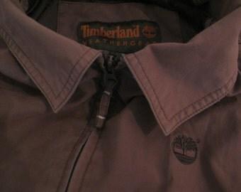 Brown Jacket Weathergear / Timberland / SIZE L