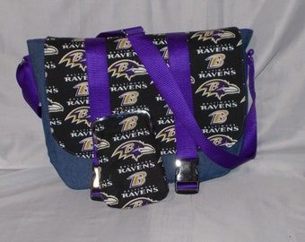 Baltimore Ravens Messenger Bag