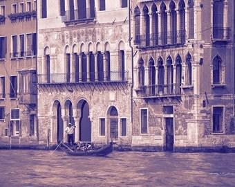 Venice Italy #1. Gondoles on the Grand Canal.