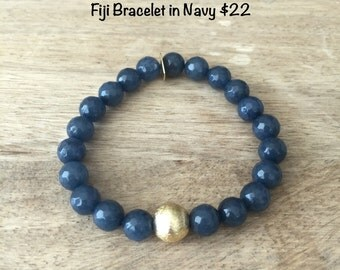 Fiji Bracelet- Navy