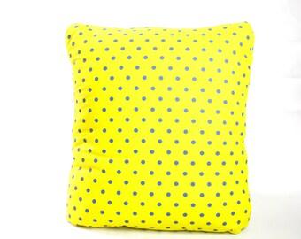 Rickshaw City Yellow Secret Pillow