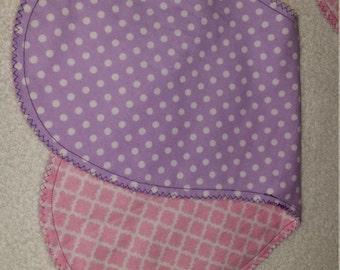 Flannel burp cloth