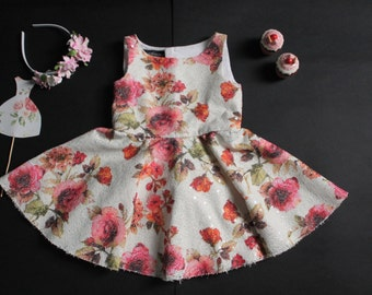 floral frocks for 1 yrs