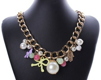 New Collection Crystals Choker Necklace Chain Jewelry