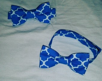 Boys bowtie with adjustable strap
