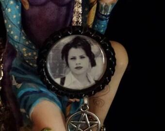 Craft Pentagram Bottlecap Necklace,keychain or earrings