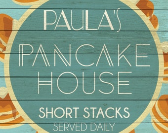 Custom Pancake House Sign Digital Download