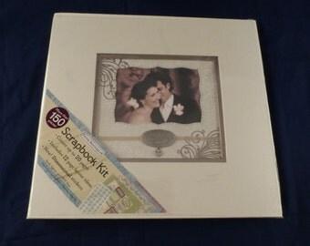 NEW Paper Boutique Wedding Scrapbook Album Kit