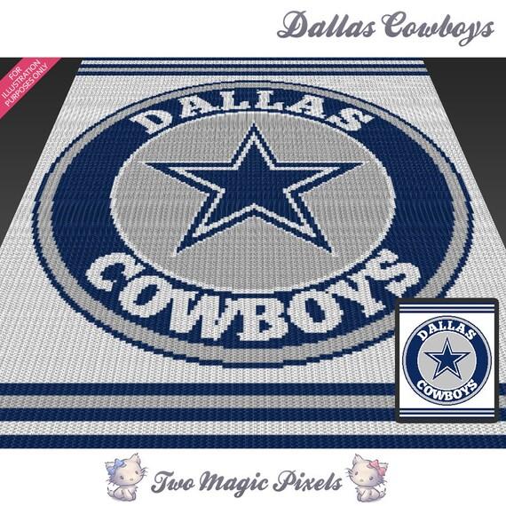 Dallas Cowboys C2c Graph Crochet Pattern Instant By