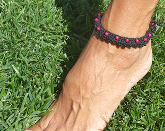 Anklet KALPANA-2016-Fashion hand-Made in Italy