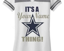 Personalized Dallas Cowboys T-Shirt