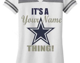Personalized Dallas Cowboys T-Shirt