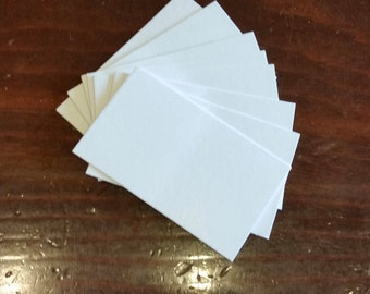 450 5x7 & 4x6 Blank White Cards