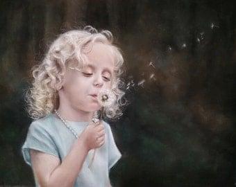 Custom 16 x 20 Pastel Child's Portrait