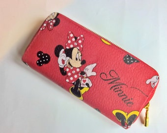 Minnie mouse, Disney, purse, clutch, bag, disney