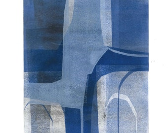 Blue Arches IX