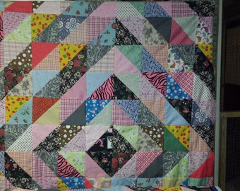Larger Cozy Handmade Quilt