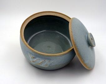 Personal Casserole - handmade casserole - light casserole -  wheel-thrown Casserole