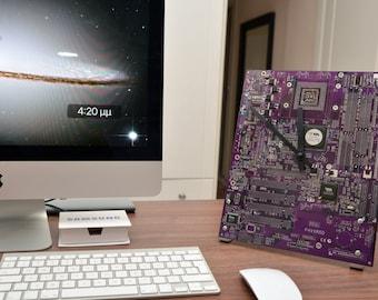 Handmade Computer motherboard Board Clock Home Office Decor