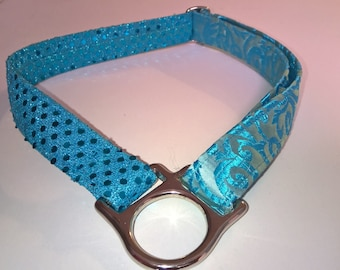 1 inch Tag Collar (Available in your choice of fabric)