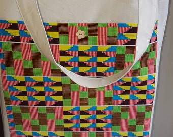 Kente Tote Bag