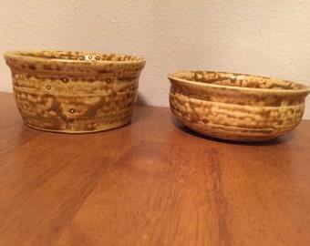 Speckled Tan Bowls (set of 2)