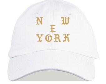 The Life of Pablo Yeezus New York pop up Baseball Cap Kanye West Hat