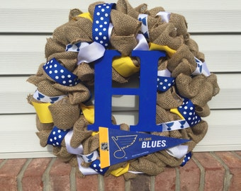 Saint Louis Blues Wreath