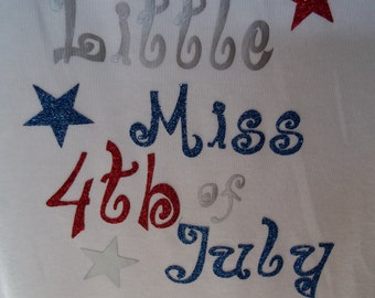 Little Miss 4th of July