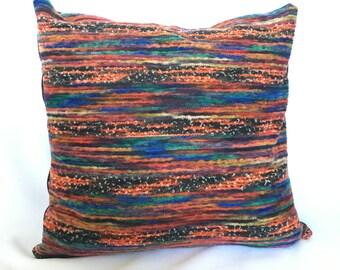 Multi Color Stripe Pillow