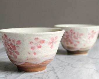 Tea Cup / coffee Japanese pattern Sakura in bloom