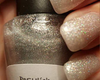 """Unique Holographic """"Starry Nights"""" Glitter Nail Polish Full Size 15ml Bottle"""