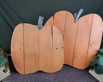 Pallet Wood Pumpkin Fall Decoration