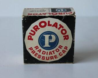 Original Purolator Radiator Pressure Cap Vintage Auto Parts