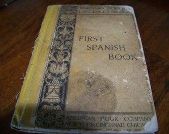 Worman's Modern Languages First Spanish Book 1884