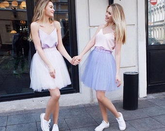 Tulle Skirt White Adult Tulle Skirt Tutu