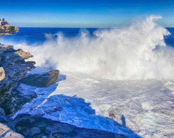Bondi Beach wave break