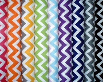 Cotton fabric Chevron Remix by Ann Kelle - different colors