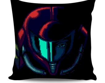 Super Metroid Samus Aran Pillow