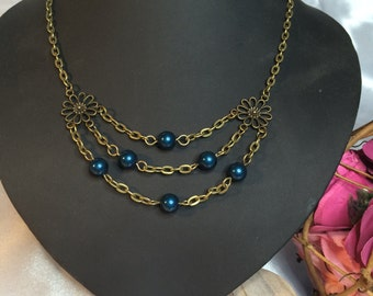 Bronze chain in medieval style, Collier