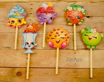 Shopkins Cupcake Toppers #1