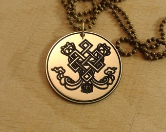 Endless knot. One of the eight major Buddhist symbols