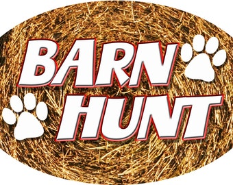 Barn Hunt Magnets
