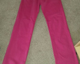 Pretty in pink thomas burberry trousers