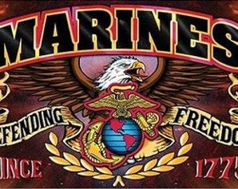 Marine Pen Blank
