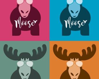 Moose Print